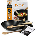 more details on Ken Hom 31cm 5 Piece Wok Set.