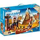 more details on Playmobil 4012 Native American Camp Superset.