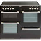 more details on Belling DB4100E Electric Range Cooker - Black/Install.