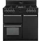 more details on Belling Classic 90DFT Double Dual Fuel Range Cooker - Black.