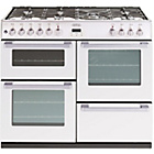 more details on Belling DB4100DF Dual Fuel Range Cooker - White/Ins/Del/Rec