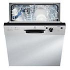 more details on Indesit DPG15B1NX Semi Integrated Dishwasher - Steel.