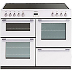 more details on Belling DB4100E Electric Range Cooker - White/Install.