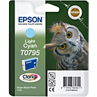 more details on Epson T0795 Owl Standard Ink Cartridge - Light Cyan.