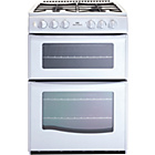more details on New World NWG55TT Gas Cooker - White/Ins/Del/Rec.