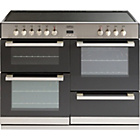 more details on Belling DB4110E Electric Range Cooker - Stainless Steel/Ins.
