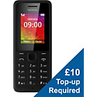 more details on EE Nokia 106 Mobile Phone - Black.