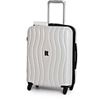 more details on IT Luggage Waves Small 4 Wheel Suitcase - Cream.