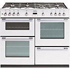 more details on Belling DB4100G Gas Range Cooker - White/Ins/Del/Rec