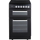 more details on New World NWETC50B 50cm Electric Cooker - Black/Install.