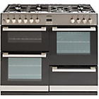 more details on Belling DB4100DF Double Dual Fuel Range Cooker - S/Steel.