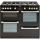 more details on Belling DB4100G Gas Range Cooker - Black/Ins/Del.