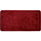 more details on Circles Bathmat 50x100cm - Red.