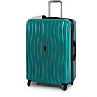 more details on IT Luggage Waves Medium 4 Wheel Expandable Suitcase - Green.
