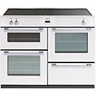 more details on Belling DB4110EI Induction Electric Range Cooker - White.