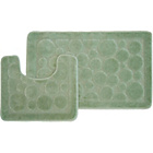 more details on Circles 2 Piece Bath Set - Green.