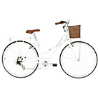 more details on Kingston Hampton 19 Inch Frame Hybrid Bike White - Ladies'.