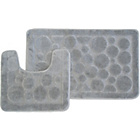 more details on Circles 2 Piece Bath Set - Grey.