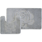 more details on Rose 2 Piece Bath Set - Grey.
