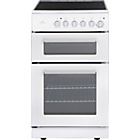 more details on New World NWETC50W 50cm Electric Cooker - White/Install.
