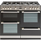 more details on Belling DB4100G Gas Range Cooker - Stainless Steel/Ins/Del.