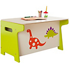 more details on Millhouse Kids' Toy Box and Desk - Dinosaur.