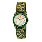more details on Timex Boys' Green Camouflage Fabric Strap Watch.