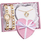more details on Limit Ladies' Gold Plated Bracelet, Pendant and Watch Set.