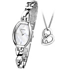 more details on Sekonda Ladies' Silver Pendant and Watch Set.