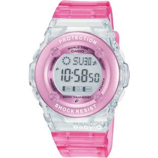 Baby-G by Casio Digital Sports Strap Womens Watch - Pink
