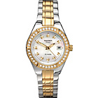 more details on Sekonda Classique Ladies' Two-Tone Stone Set Watch.