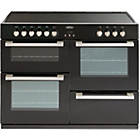 more details on Belling DB4110E Electric Range Cooker - Black/Install.
