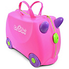more details on Trunki Trixie Ride-On Suitcase - Pink.