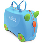 more details on Trunki Terrance Ride-On Suitcase - Blue.
