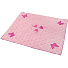 more details on Kiddiewinkles Rose Cottage Cotton Floor Quilt - Small.