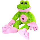 more details on Wild Republic Sweet and Sassy Frog 12 Inch Plush.