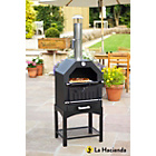 more details on La Hacienda Steel Multi-Function Pizza Oven.