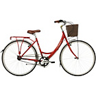 more details on Kingston Mayfair 19 Inch Frame Hybrid Bike Red - Ladies'.