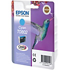 more details on Epson T0802 Hummingbird Standard Ink Cartridge - Cyan.