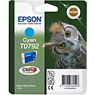 more details on Epson T0792 Owl Standard Ink Cartridge - Cyan.