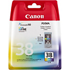 more details on Canon CL38 Standard Ink Cartridge - Multi Colour.