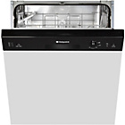 more details on Hotpoint LSB5B019B  Full Size Dishwasher - Black.