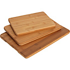 more details on Heart of House Set of 3 Bamboo Chopping Boards