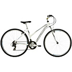 more details on Mizani Zone HT 15 Inch Hybrid Bike White - Ladies'.
