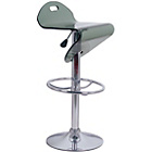 more details on Eliza Tinsley Castries Open Seat Chrome Frame Bar Stool.