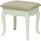 more details on Chantilly Dressing Table Stool - White.