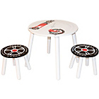 more details on Kidsaw Speed Racer Table with 2 Chairs - White.