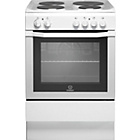 more details on Indesit I6EVAW/ Freestanding Cooker - White