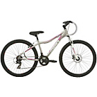 more details on Mizani Sunset FD 17 Inch Mountain Bike Silver - Ladies'.