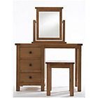 more details on Fairford Dressing Table and Stool - Dark Oak.
